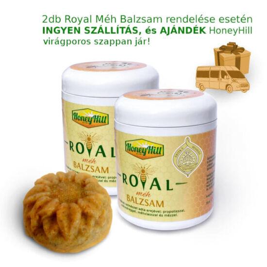 2db Royal Méh Balzsam ajándék szappannal és ingyenes szállítással