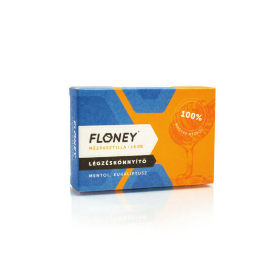 Floney Légzéskönnyítő Mézpasztilla