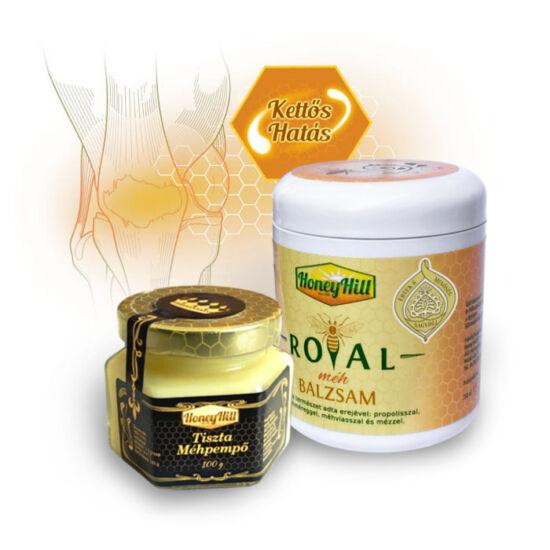 Kettős Hatás csomag - 100 g (2 havi adag) Tiszta Bio Méhpempő + 1db Royal Méh Balzsam