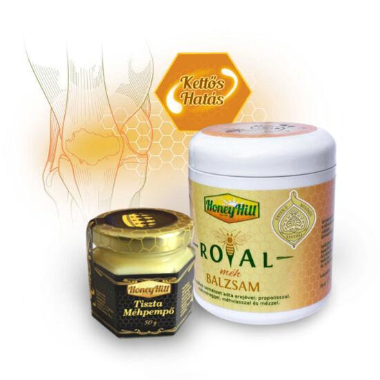 Kettős Hatás csomag - 50 g (1 havi adag) Tiszta Bio Méhpempő + 1db Royal Méh Balzsam