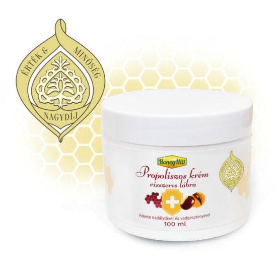 HoneyHill Propoliszos krém visszeres lábra 100 ml