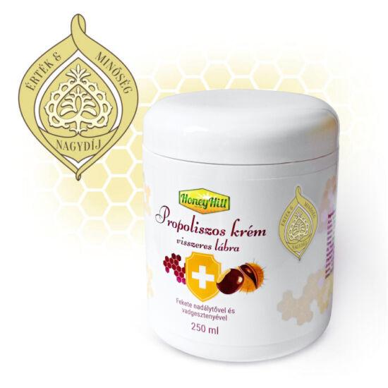 HoneyHill Propoliszos krém visszeres lábra 250 ml